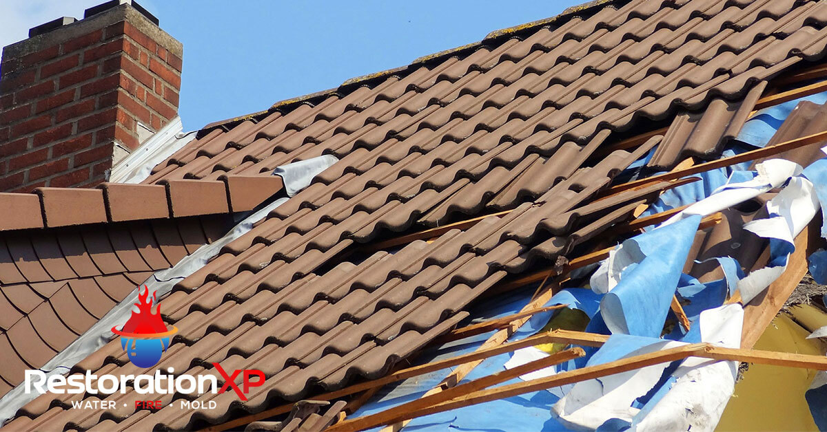 storm damage restoration in Frisco, TX