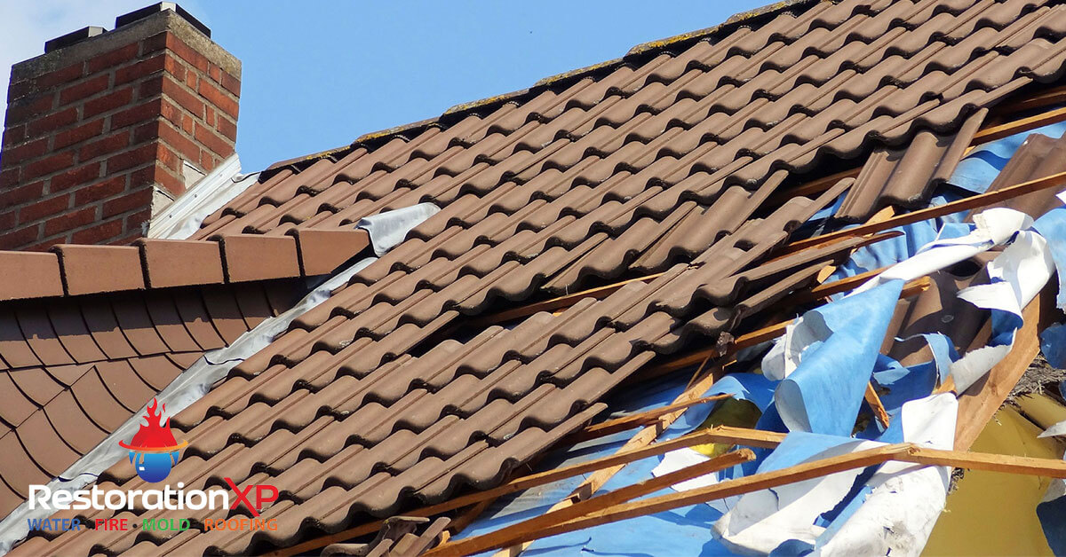 storm damage restoration in Whitesboro, TX