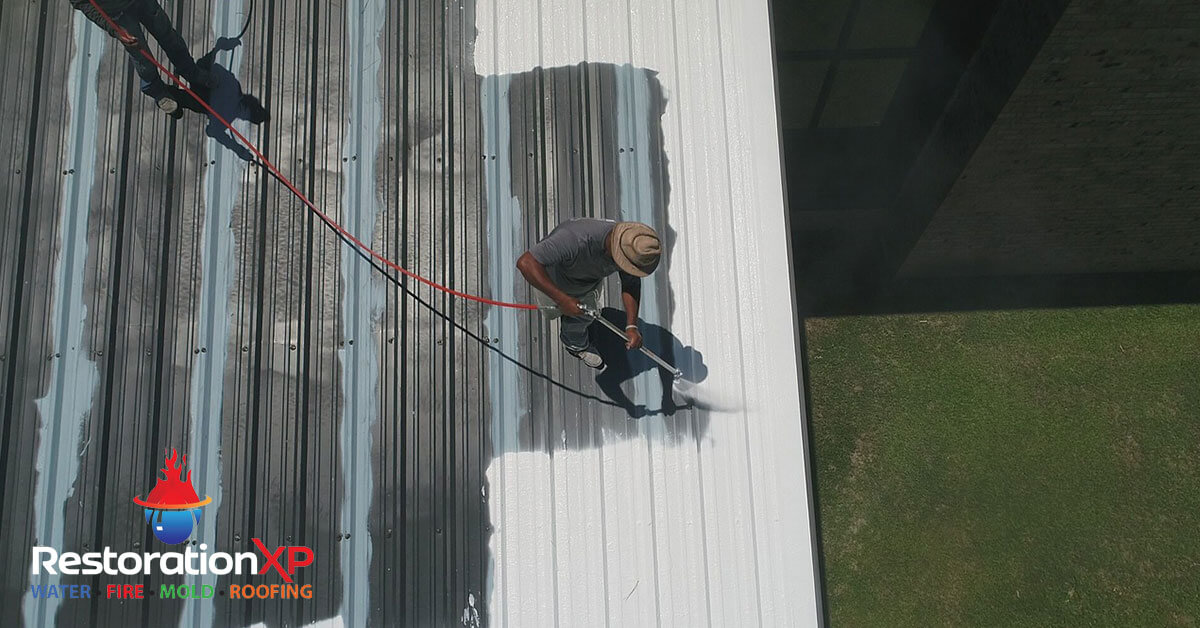 Damaged Roof Repair in Melissa, TX