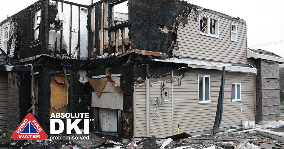 Soot Damage in Silver Lake, WI