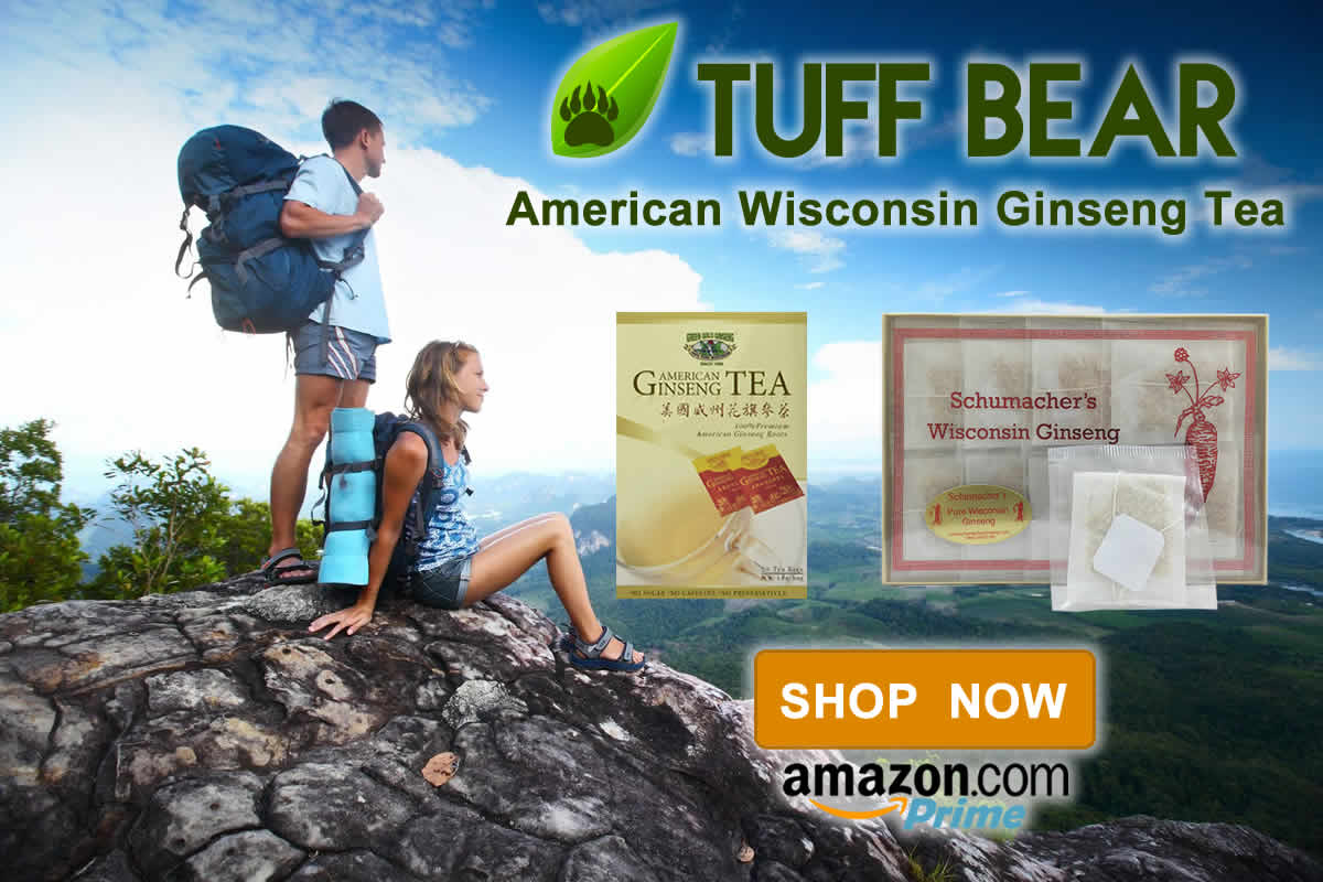Shop Now! Brand New American Ginseng Tea