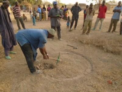 Lancement travaux puits Tiecoumala 1 (6)