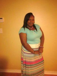 Kiona Walker, a Youth Employment intern with the Jacksonville Speech & Hearing Center.
