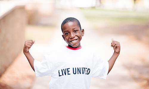 Today, Kavell is thriving academically and socially after receiving free therapeutic services through United Way's Full Service Schools.
