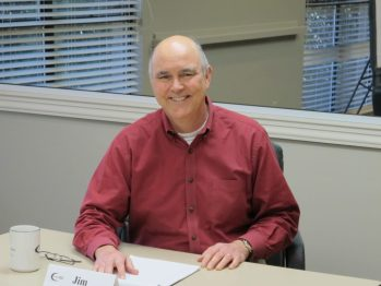 Jim Flagg is thankful for the opportunity to share his research expertise through volunteering with United Way.