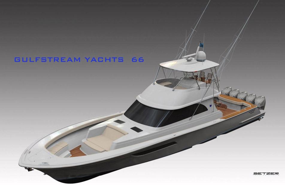 New Gulfstream Yachts 66 Center Console United