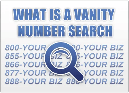 are you wondering where to start with your vanity number search we can help you can use our free vanity search tool to find toll free numbers that spell a