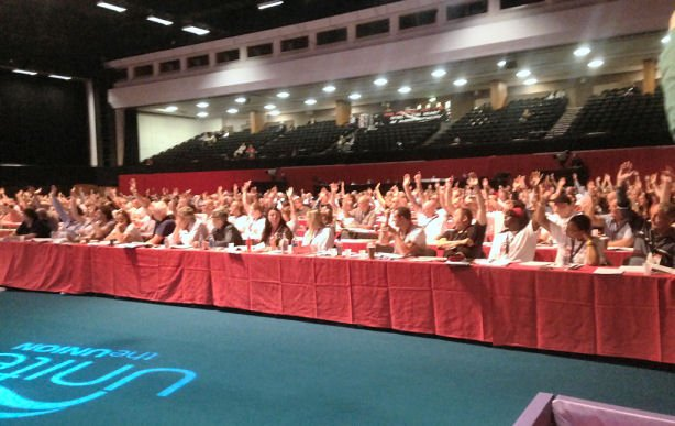 Amendments for Unite Policy Conference