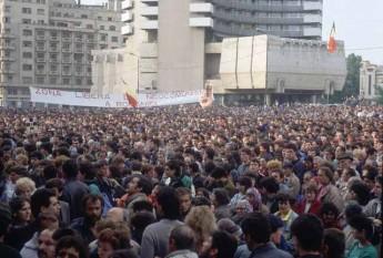 Piata Universitatii 22 aprilie 1990 - foto: revista22.ro
