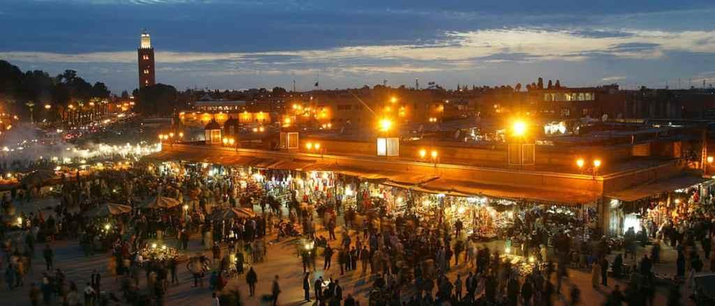 Djema El Fna Square in Marrakech