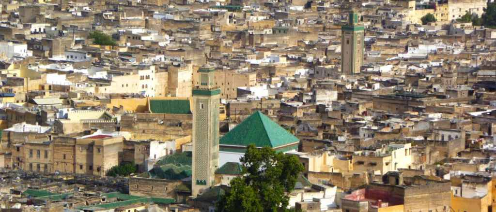 Panoramic view of Fes