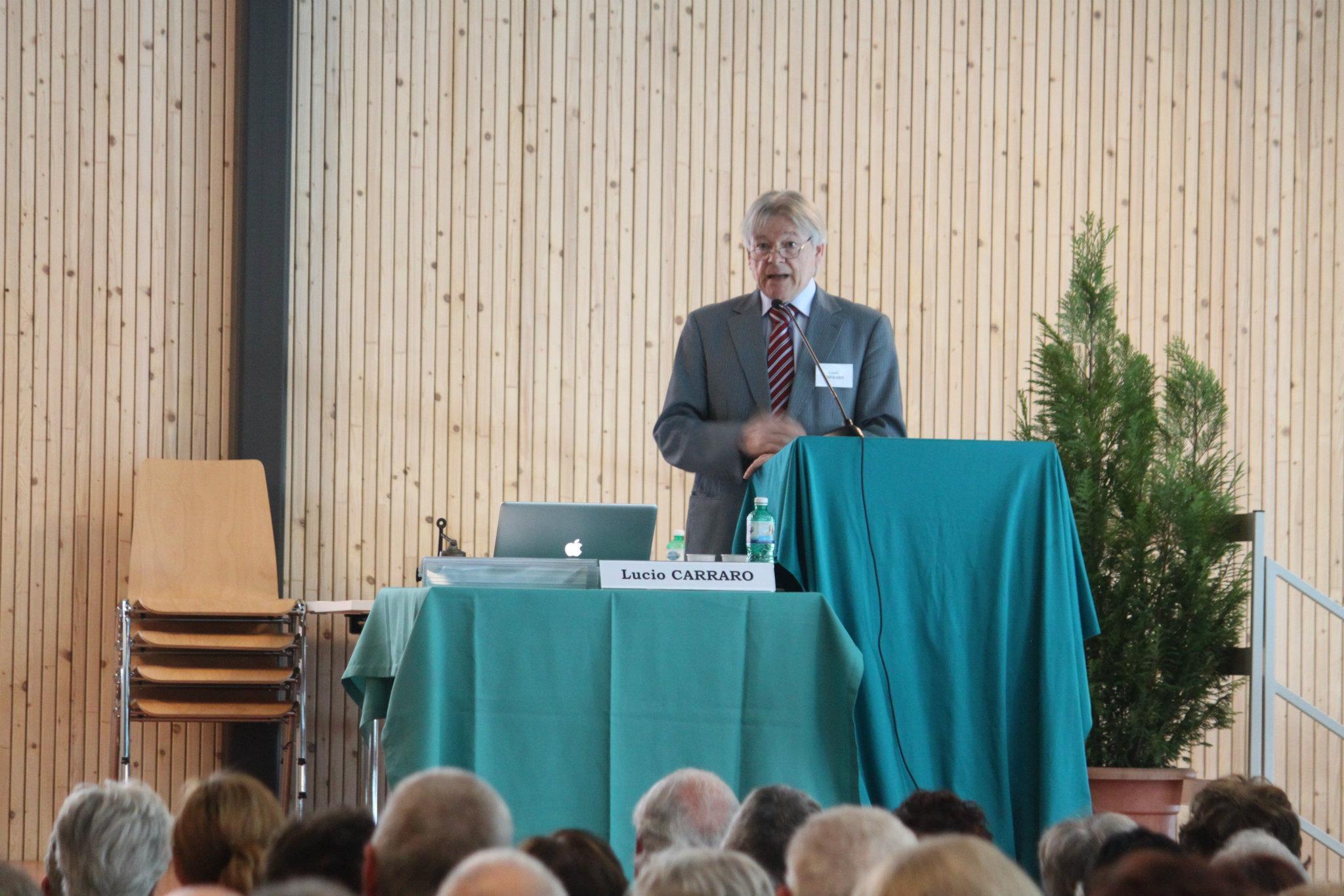 Lucio Carraro (Congresso Profezie 2012) - UNITRE Lucerna