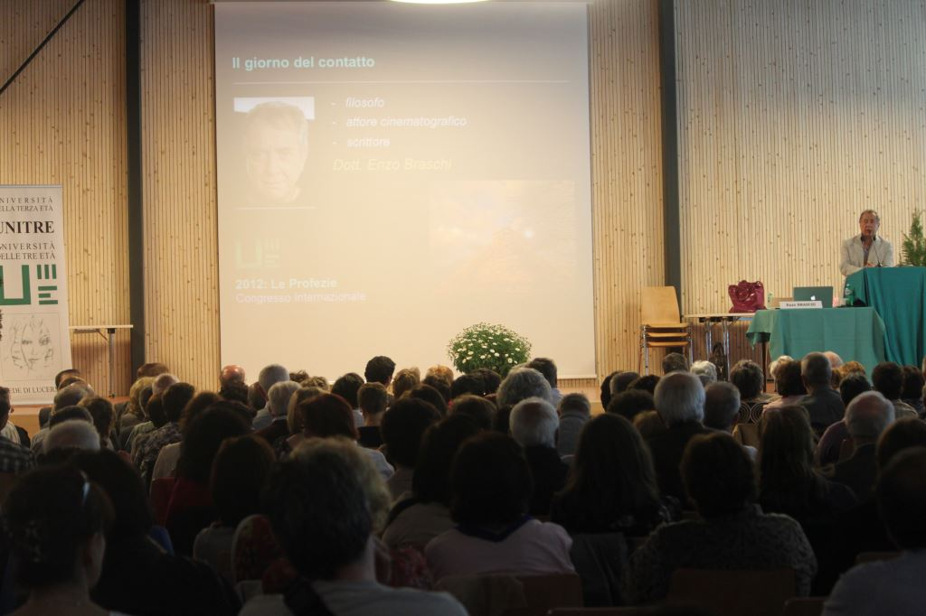 Enzo Braschi (Congresso Profezie 2012) - UNITRE Lucerna