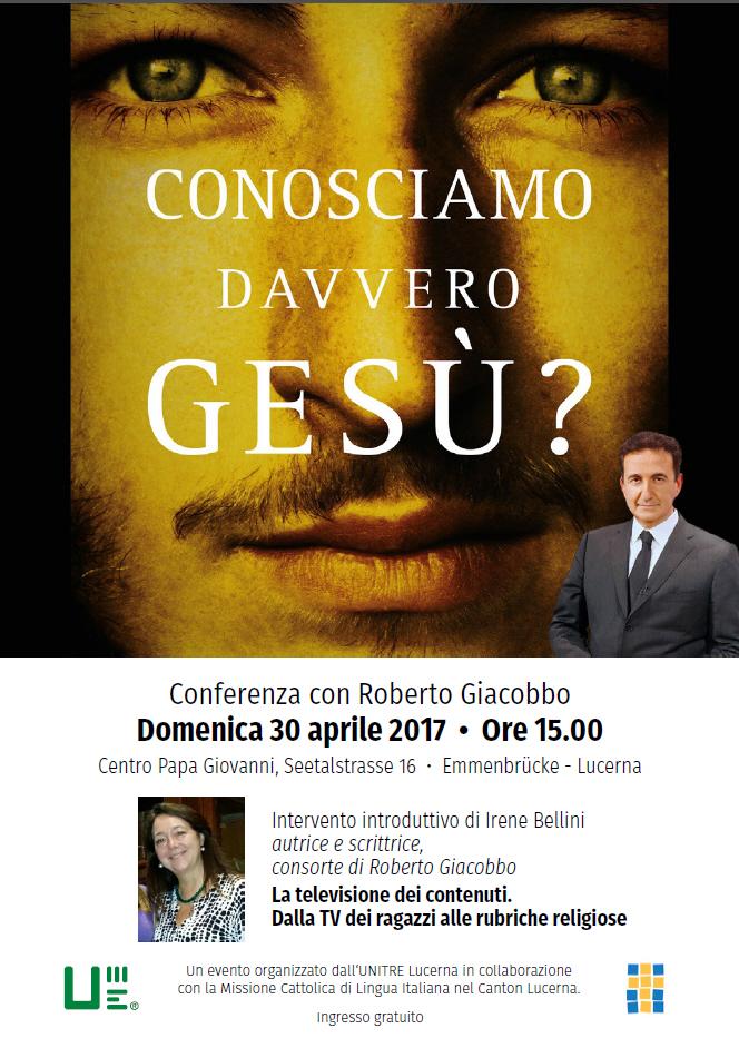 Roberto Giacobbo 30 April 2017 - UNITRE Lucerna