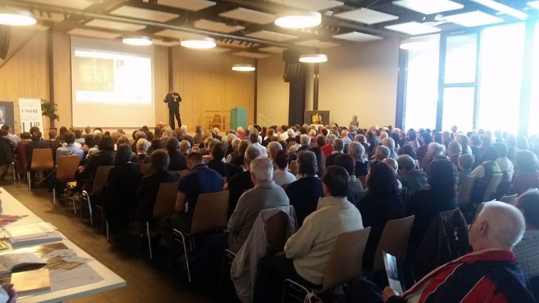 Pubblico conferenza di Giacobbo