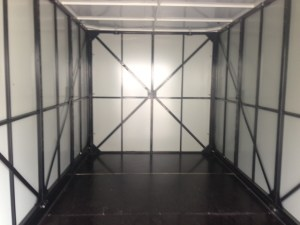 An interior view of a UNIT used for portable storage in san ramon