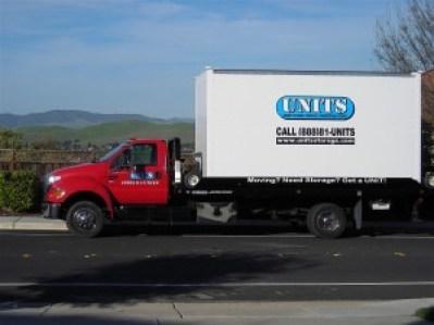 UNITS truck moving to Walnut Creek