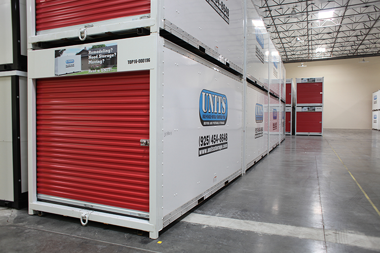 Moving And Portable Storage In Fremont Containers In Warehouse