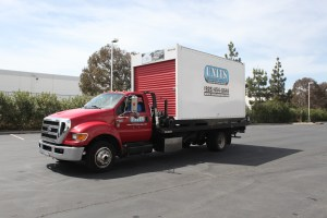 UNIT getting delivered to San Leandro