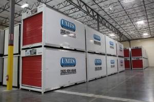 UNITS Warehouse for San Pablo Business Storage