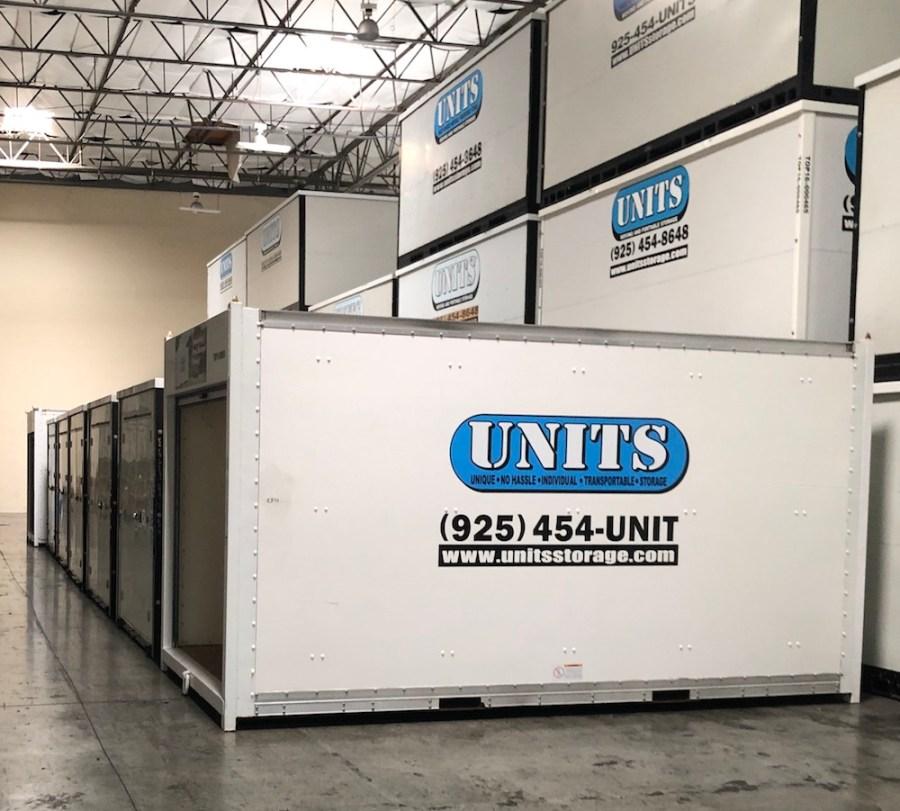UNITS Portable Storage Long Distance Move Storage Facility