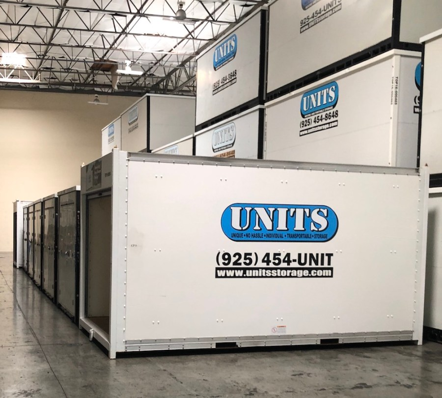 UNITS Portable Storage Long Distance Move Storage Facility