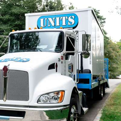 UNITS truck does the driving.