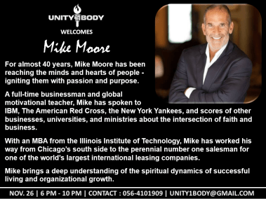 Mike Moore - 26 Nov