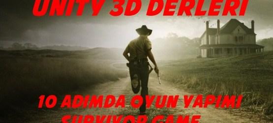 10 adımda oyun yapımı survivor game