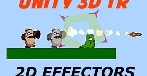 Unity 3d 2d oyun yapımı
