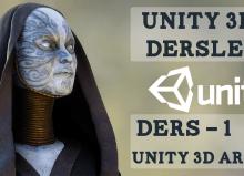 Unity 3D arayüz