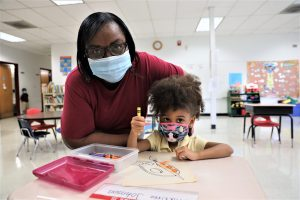 picture of Mrs. Charlene Dickerson, teacher of Pre-K 3