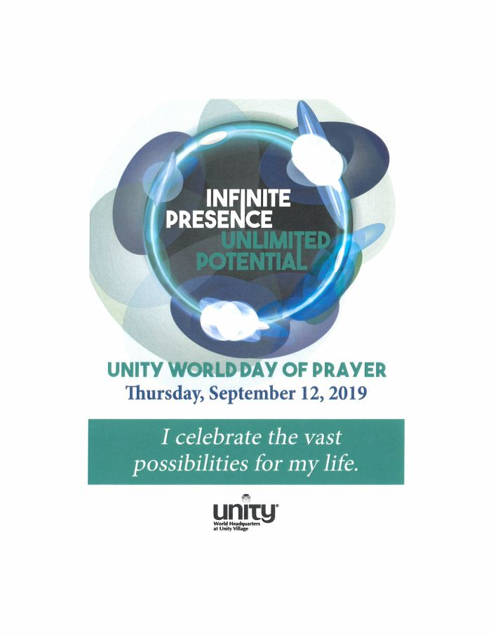 World Day of Prayer 2019: Infinite Presence, Unlimited Potential