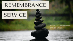 Upcoming - Remembrance Service