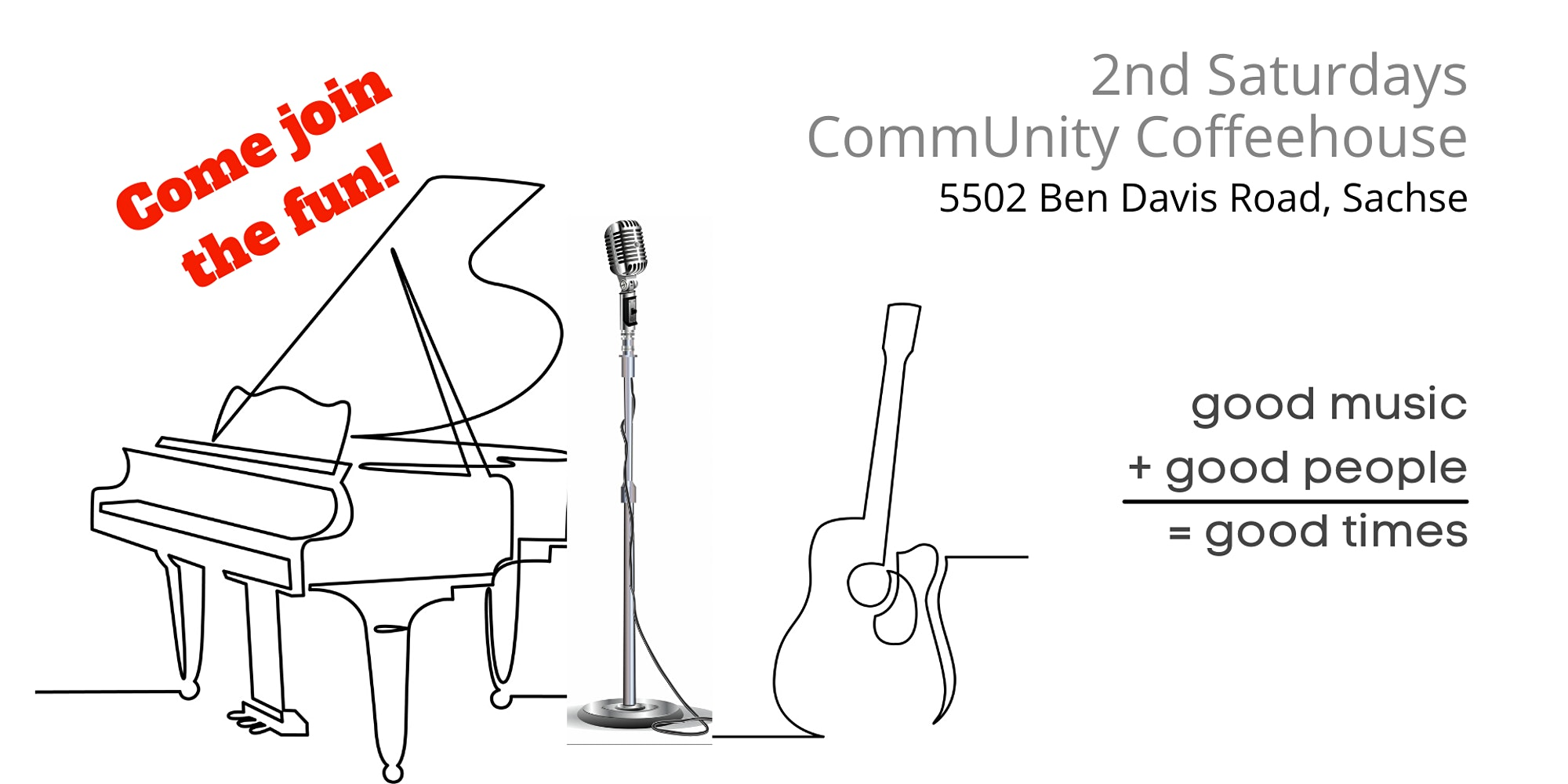 You are currently viewing 2nd Saturdays CommUnity Coffeehouse