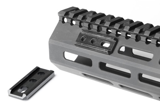 MLOK Compatible FUSION Adapter  Unity Tactical