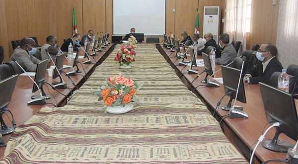 اجتماع مجلس مديرية جامعة غرداية