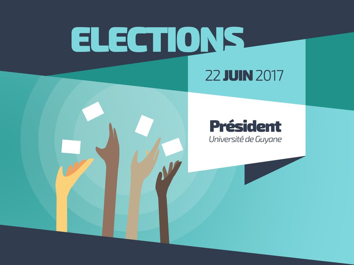 Élection du président de l'université de Guyane le 22 juin 2017