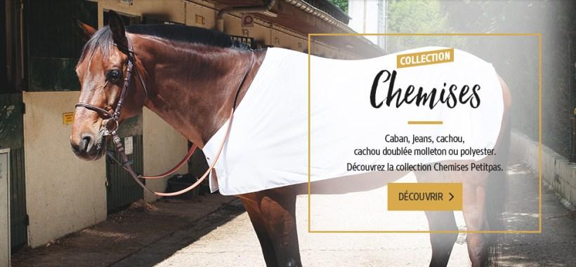 Chemises pour chevaux Petitpas