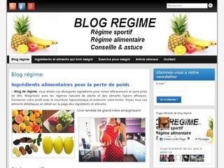 Blog regime : Comment ne pas prendre du poids?