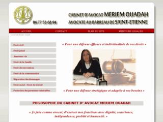 Merie Mouadah : avocate sur Saint-Etienne et sa région