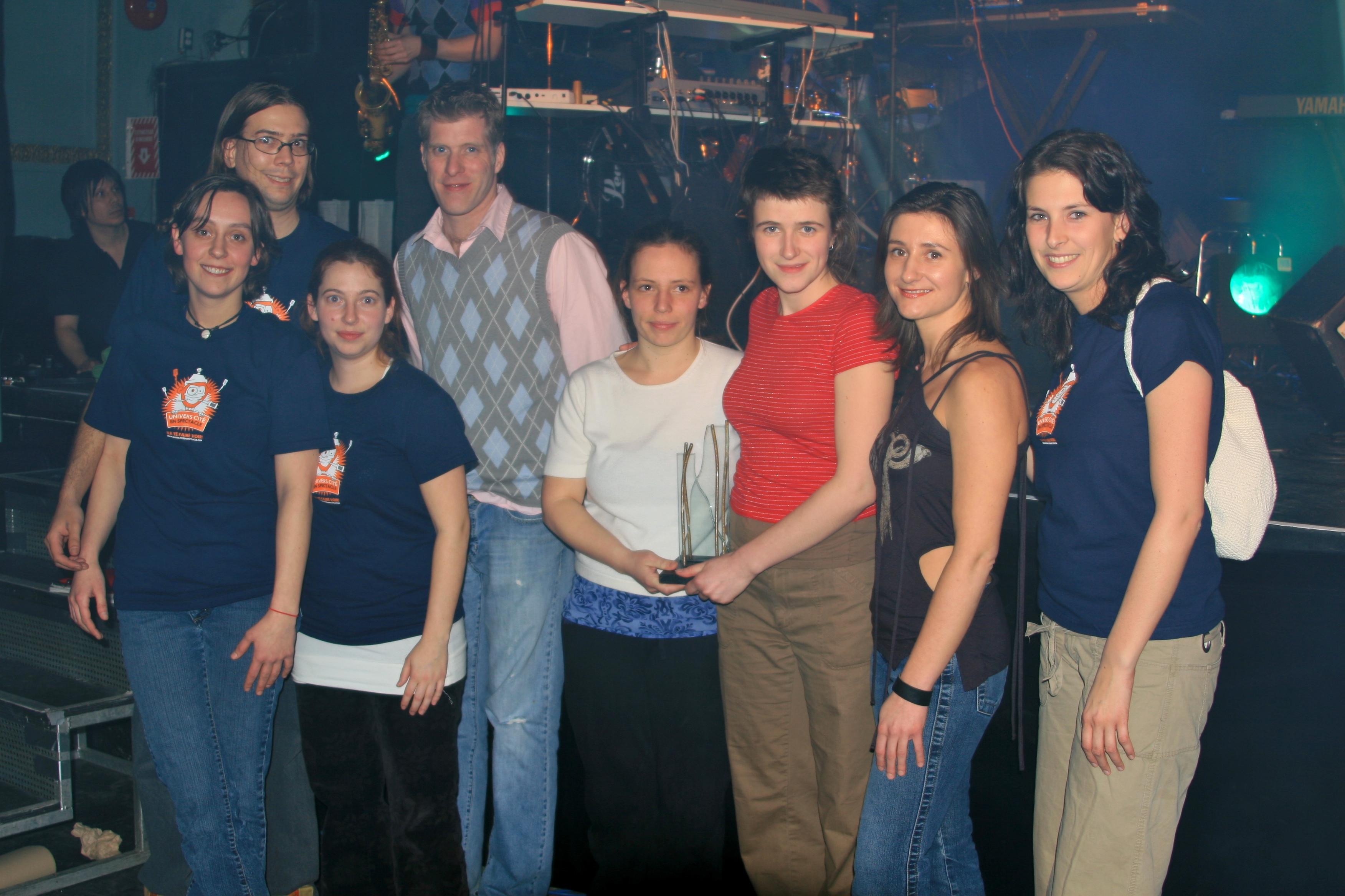 2e place – Marie De Oliveira et Agathe Bouvet (UQAC)
