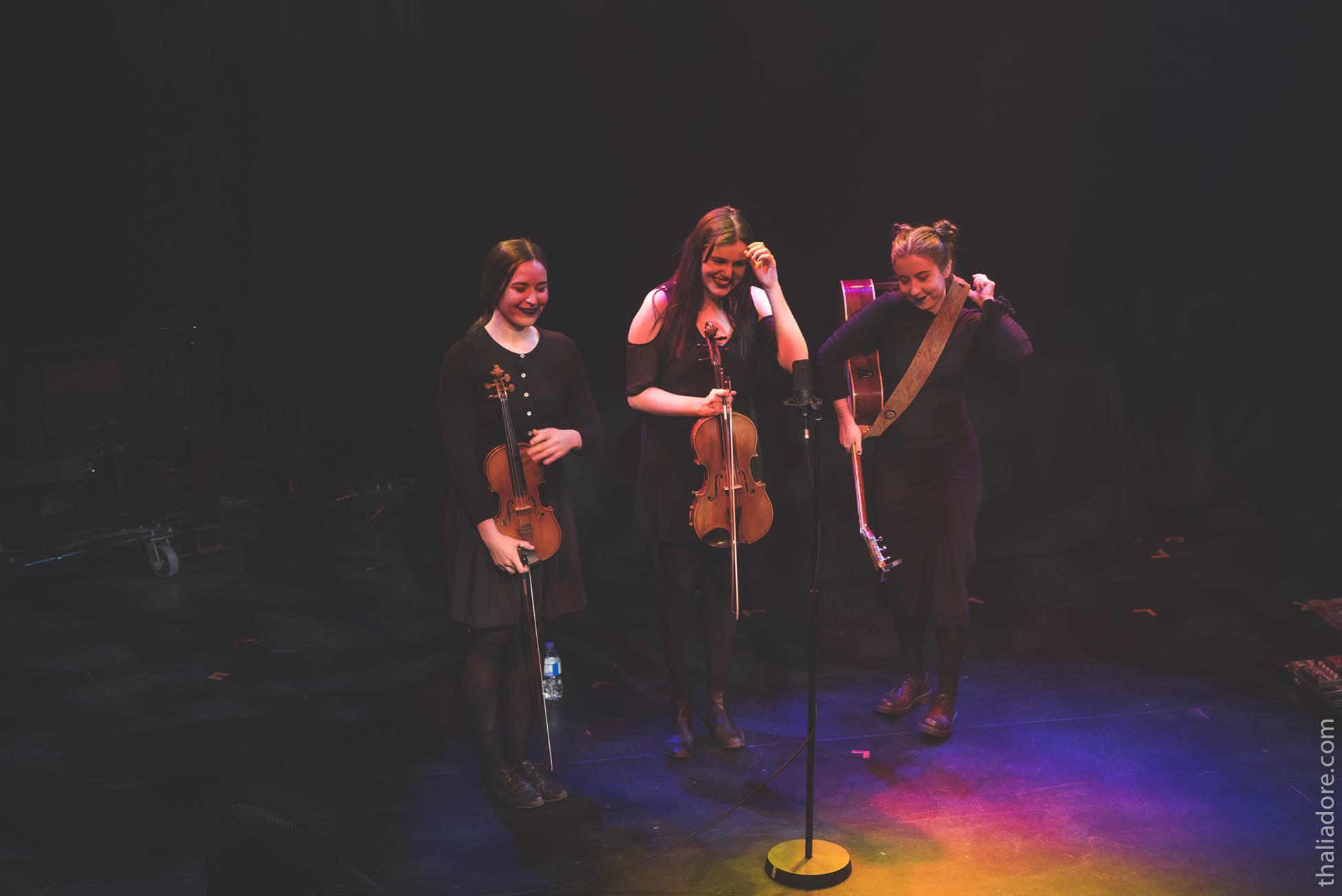 Amande (Rebecca Leclerc, Alexandrine Rodrigue et Joséphine Simard), 2ème place