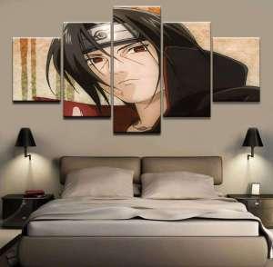 Décoration murale en 5 pièces Naruto Itachi
