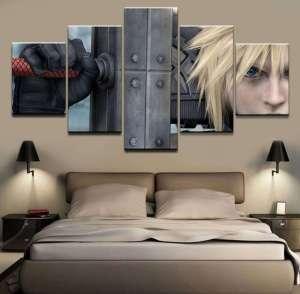 Décoration murale Final Fantasy 7 Cloud Strife