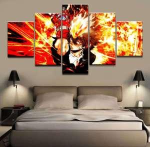 Décoration murale Hitman Reborn Tsuna Full Power