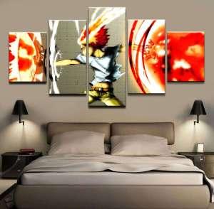 Décoration murale Hitman Reborn Tsuna X Burner
