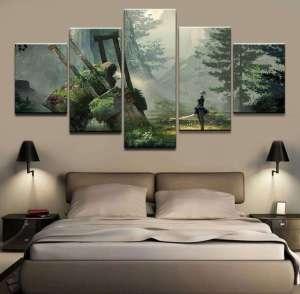 Décoration murale Nier Automata 2B Forest