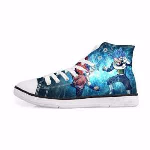 Chaussures Baskets Dragon ball Super Vegeta X Goku
