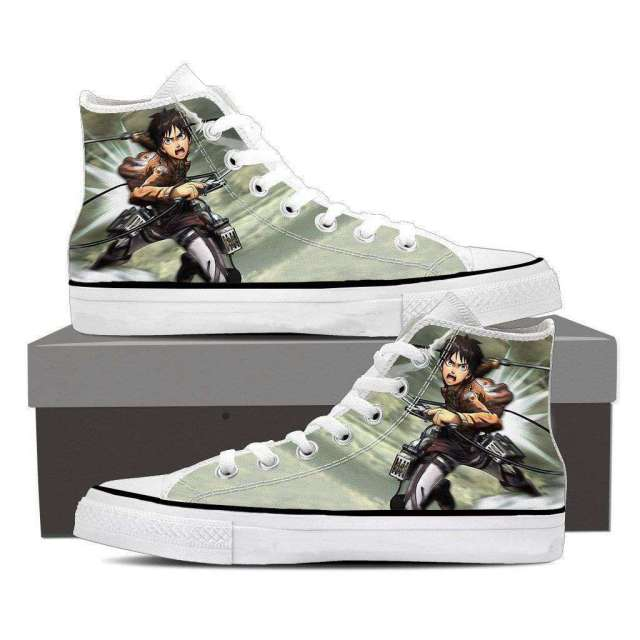 Chaussures Baskets L'attaque des titans Eren